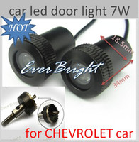 Wholesale 2 th Generation W Welcome Laser D Ghost Shadow Logo Light for chevrolet car