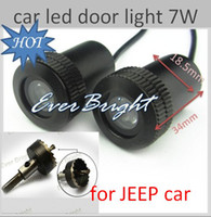 Wholesale 4X th Generation W Welcome Laser D Ghost Shadow Logo Light for JEEP car