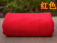 Wholesale 10PC cm towels Thicked Superfine fiber towel Microfiber towels Hand Face Towels Strong water imbibit for