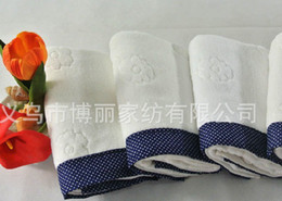 Wholesale 10pc cm top grade cotton towel Thicked cotton towel bath towel Hand Face Towels Strong water