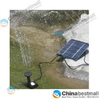 Wholesale 7V W Pool Water Pump Garden Plants Watering Kit Solar Power Fountain Soar Pump Water Pump
