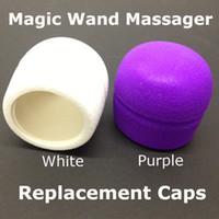 Wholesale Hitachi HV R Magic Wand Massager Replacement Caps Head Vibrator Adam Eve Head Caps Attachment