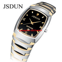 Wholesale JSDUN Brand Watch Tungsten Watches scratchproof sapphire glass ATM Water Resistant high quality pu