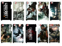 Wholesale new skin design CALL OF DUTY BLACK OPS case hard back cover for ipod touch G th fr
