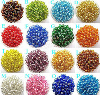 Wholesale The irrigation silver beads MM MM MM Czech Glass Seed Spacer beads Jewelry DIY Accessories