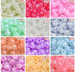 Wholesale Cream seed beads MM MM MM Czech Glass Seed Spacer beads Jewelry DIY Accessor