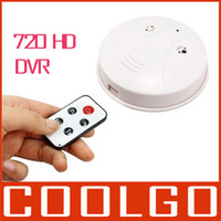 Wholesale Smoke Detector Alarm Home security HD DVR hidden camera Recorder Motion Sensor