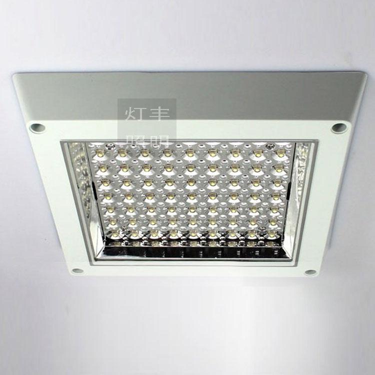 Led kitchen lights square concealed ceiling lamp 72 bright - Concealed led ceiling lights ...