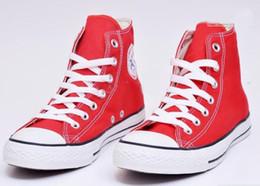 Wholesale NOUVELLE marque RENBEN de chaussures de toile YGHH5 Unisexe Bas Haut Haut dessus Chaussures de Sport Baskets