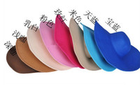 Wholesale 14color Womens Beach Sun cap Straw hats Wide Large Brim Summer hats