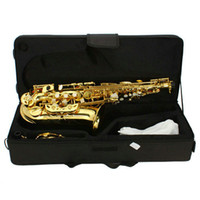 Wholesale Alto Drop E Paint Gold Saxophone Paint Gold Brand New