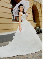 Garden Summer Sexy European charming style of romantic wedding dresses clothing lace tailing women wear set beauty of t