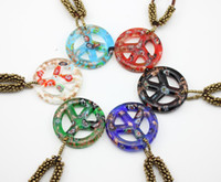 gold dust - 6pcs Baroque Fashion Multicolor Gold dust Cross Lampwork murano Glass beads Pendant necklace Jewelry BS228