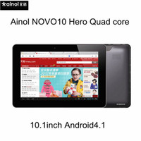 Wholesale Ainol NOVO Hero inch IPS Tablet PC Android Dual Core Bluetooth Wifi Dual Camera