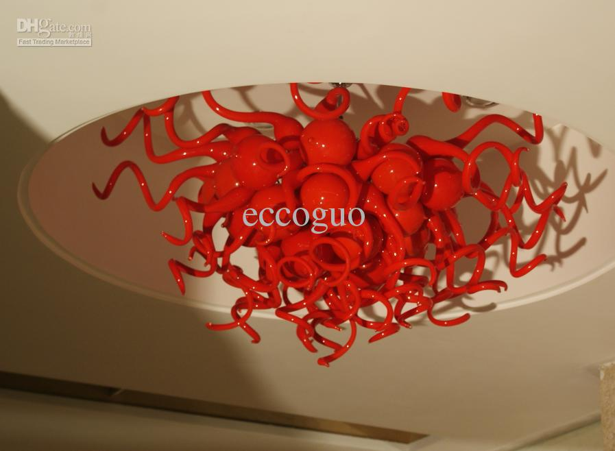 Red Chandelier southnextus – Art Chandelier