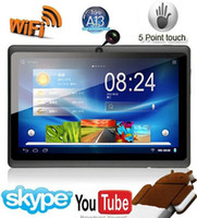 Wholesale 7 inch Tablet PC Allwinner A13 Q88 Android Capacitive Screen Mid MB GB C