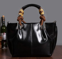 Totes Women Plain Promotion! 2013 hot sale casual 100% genuine leather women handbag designer branded totes