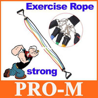 Wholesale Latex Resistance Bands Fitness Exercise Tube Rope Set Yoga ABS Workout H8329 Free Dropshipping