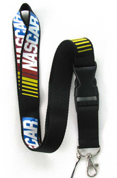 Hot!New Popular NASCAR Logo Style PHONE LANYARD KEYS ID NECK STRAP