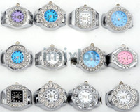 Wholesale Ring Watch Finger Ring Watch Quartz Watch Fashion Ring Watch Ring Crystal Watches Y181