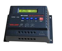 Wholesale sun solar changer controller panel charge C2460 V A A A solar system Charge Controller Battery controller CPU controller