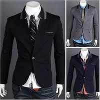 Wholesale New Men s suits Top grade Rome Knitted fabrics Men Slim Suit jacket