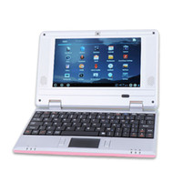 VIA best pink laptops - Best selling VIA8850 quot Google Android TFT HD Mini Notebook Laptop Camera WiFi WLAN G HDMI DHL