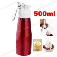 Wholesale 500ml Whipper Foam Make European Fancy Style Whip Fresh Cream Butter Dispenser