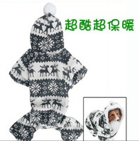 Wholesale 2013 new designer S XXL IFINE comfortable warm Pet Puppy autumn amp winter pet clothes for teddy
