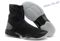 Wholesale Qltrade_2 Brand Mens J28 Basketball shoes Running boots High black inside green fast delivery