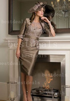 Free Jacket! 2013 Short Sleeves Taffeta Mother of The Bride ...