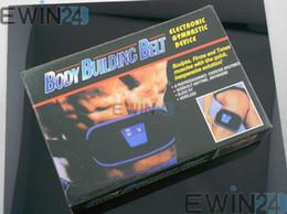 Wholesale 1 X Electronic Gymnic Slimming Belt Muscle Exercise Toner Toning Belts Drop Shipping New