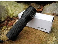 Wholesale waterproof flashlight Lumen Zoomable CREE XM L LED Flashlight Torch Zoom Lamp Light