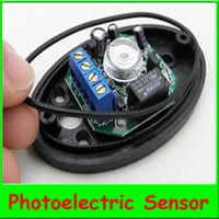 Wholesale 1pair Single Beam Detector ABO Active Half Egg Beam Infrared Detector Photoelectric Sensor