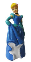 belle set - shiny Princess Ariel Cinderella Snow white Belle Aurora Cartoon Figure Toys Doll set