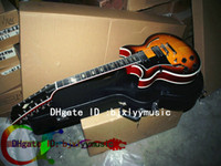 Wholesale Custom Shop strings guitar left hand guitar Johnny hollow body jazz Electric Guitar