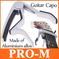 Wholesale Guitar Capo Made of Aluminium alloy Sliver or Black color I59