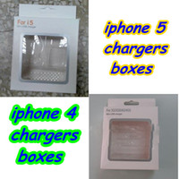 Wholesale 3 in Carton Retail Package Packaging Boxes box for iphone G S cables chargers not included