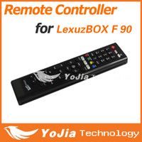 Wholesale 1pc Remote Controller for LexuzBOX F F90 satellite receiver f90