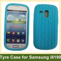 Cheap Silicone tyre case for i8190 Best For Samsung For Christmas soft case for i8190