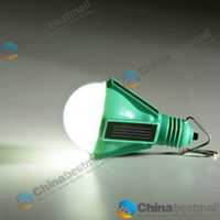 Wholesale Novelty Solar Panel LED Lamp Portable Waterproof Outdoor Energy Conservation hanging Camping Light