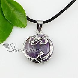 round dragon gem stone jewelry semi precious stone necklace pendants Spsp0864TC5 green stone jewelry natural stone jewelry