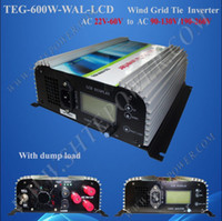 Wholesale New W GRID TIE INVERTER AC22 V to AC190 volt for wind turbine wind generator