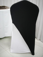 Wholesale black spandex lycar chair cover cap