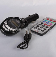 Wholesale CAR FM TRANSMITTER FOR CAR MP3 Player FM Transmitter with Control for USB SD MMC Slot