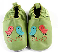 Retail Boy & Girl 0-2T Lowest Pirce 1 Pair Baby Soft Sole Walking Shoes Infant Toddler leather Walking shoes Prewalker Shoe