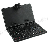 Wholesale Leather Case with MINI USB Interface Keyboard for MID Tablet PC