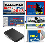 Wholesale 10 software alldata mitchell bosch esi atris Tecdoc Transmission vivid workshop ATSG gb HDD