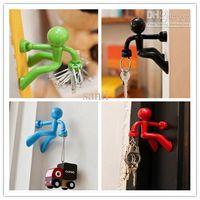 Plastic wall magnetic - Wall Climbing Boy Magnetic Key Holder Magnetic Climbing Man Key Holder