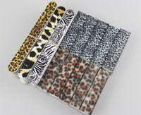 Wholesale 40pcs Leopard Print Serie Nail Care Set File Buffer Block For Salon Nails Manicure Pedicure